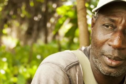 Ernest Kouadou Konan, produttore di cacao e responsabile delle relazioni con i produttori a Ecookim