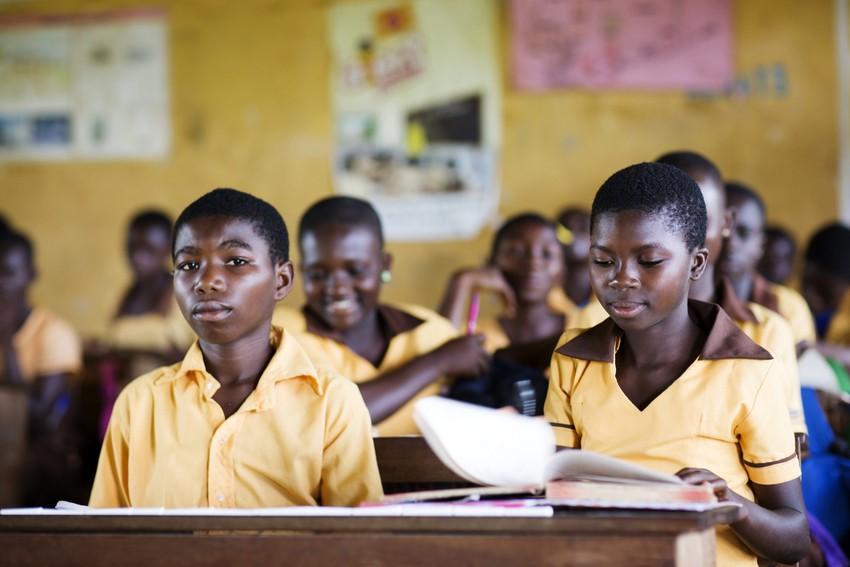 Scuola a Kuapa Kokoo, Ghana