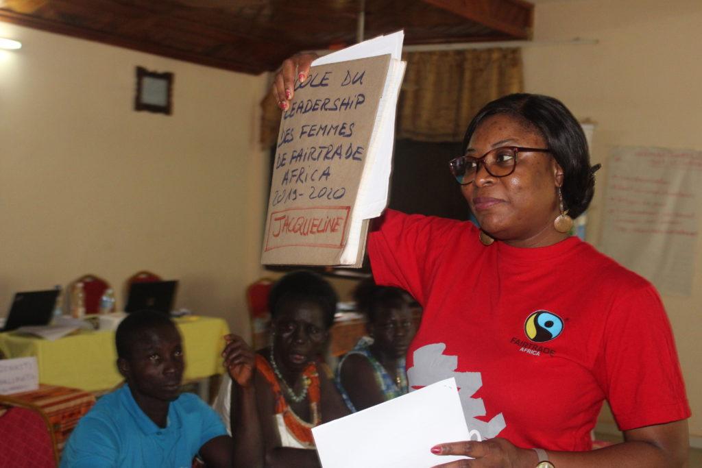 Il team di Fairtrade Africa durante il percorso di formazione