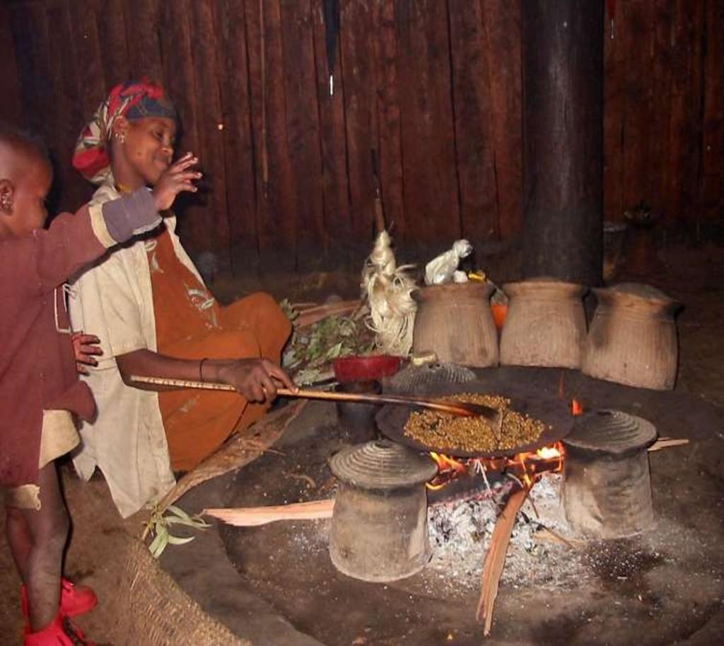 Metodo tradizionale di cottura
