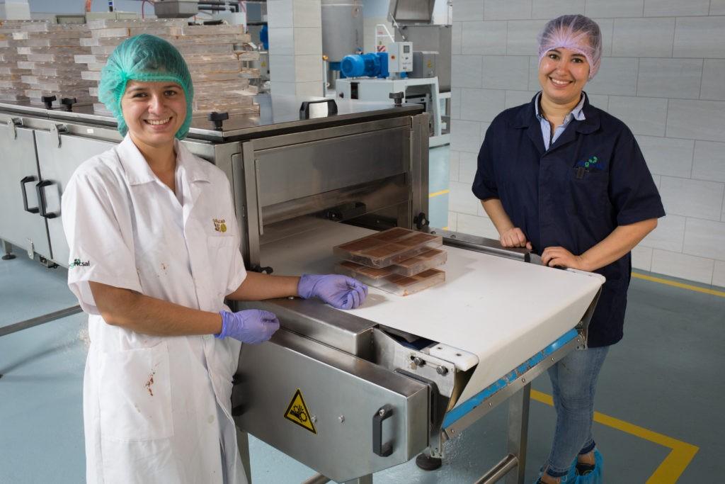 Julmy Portillo e Alejandra Lemus. della fabbrica Xol chocolate in Honduras