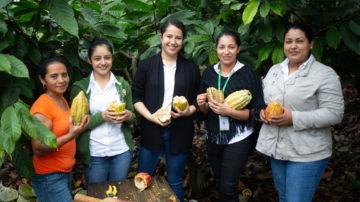 Lavoratrici della fabbrica del cioccolato Xol, Haonduras, cooperativa Coagricsal