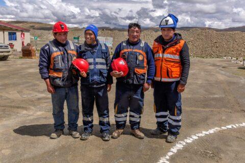 Minatori della cooperativa Limata