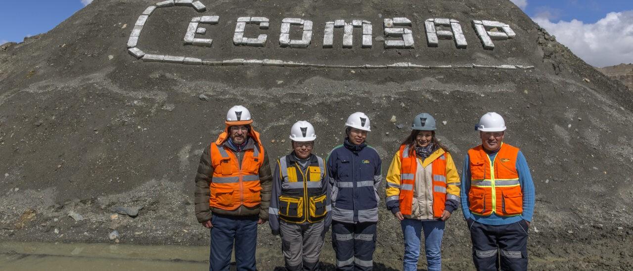 Membri della cooperativa San Francisco, parte dell'Organizzazione Cecomsap. Eduardo Martino