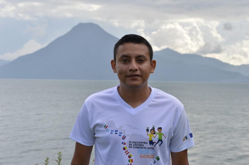 Edwin Pérez, giovane imprenditore Fairtrade