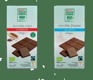 Cioccolate Scelta Verde Bio Despar