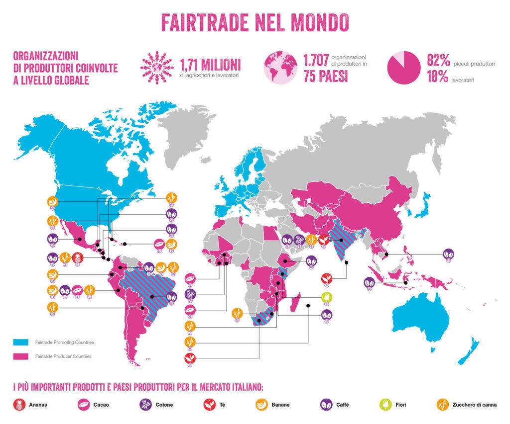 Organizzazioni di produttori Fairtrade a livello globale