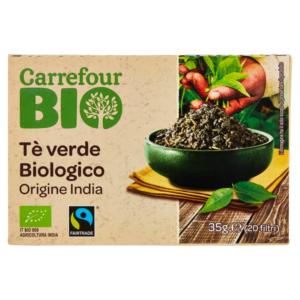 tè biologico verde e nero