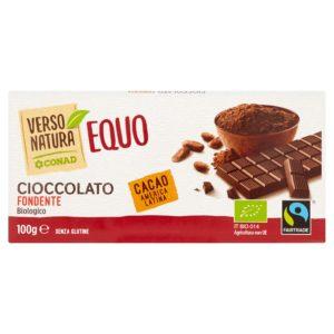 Cioccolato fondente biologico