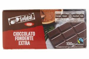 Cioccolato solidal Coop