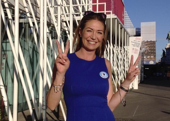 Tessa Gelisio è una Fairtrade Best Friend