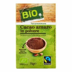 Cacao amaro in polvere biologico