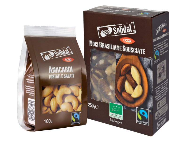 frutta secca solidal fairtrade