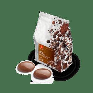Cioccolato al latte di copertura mediamente fluida