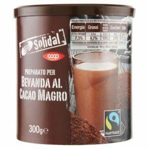 PREPARATO PER BAVANDA AL CACAO MAGRO