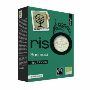 riso bianco bio fairtrade