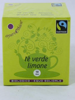 Tè verde e limone